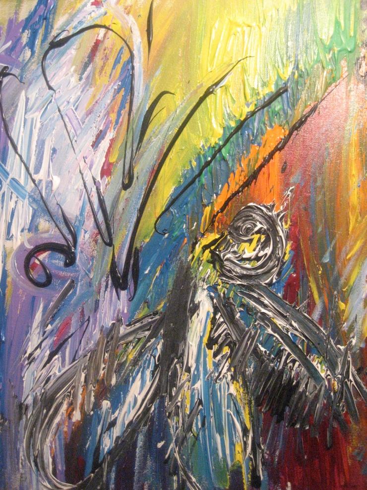Rape of the Dragon Fly © 2009 Cassandra Fradera