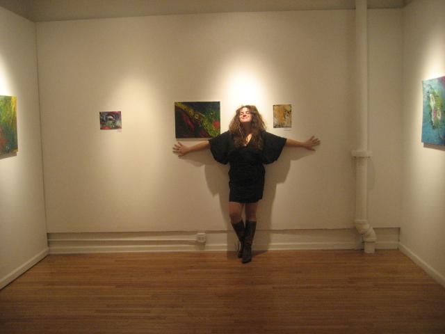 Bio Pic - Cassandra Fradera, December 20, 2009 in FCB Gallery